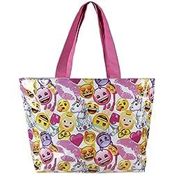 Emoji 2100001723 Bolsa de Tela y de Playa