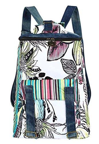 Keshi Leinwand Niedlich Damen accessories hohe Qualität Einfache Tasche Schultertasche Freizeitrucksack Tasche Rucksäcke Mehrfarbig