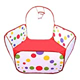 Jacone Foldable Hexagon Polka Dot Play T...
