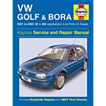 VW Golf & Bora 4-cyl Petrol & Diesel (01-03) Haynes Repair Manual