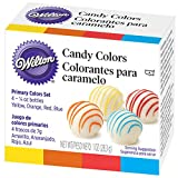 Wilton Candy Colors 4 x 7 g (Oil-Based)