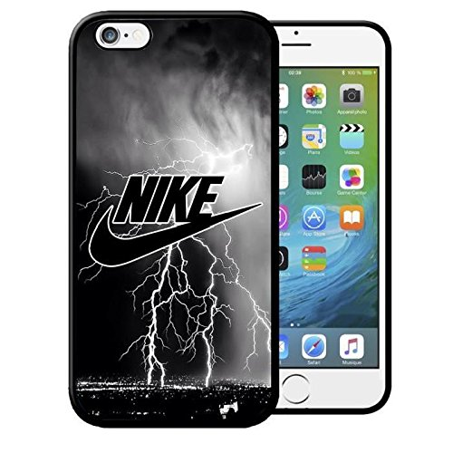 Coque Iphone 5 5S Nike Eclair Noir Swag Etui Housse Bumper