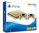 PlayStation 4 - Konsole (500GB, gold, slim) inkl. 2. DualShock Controller