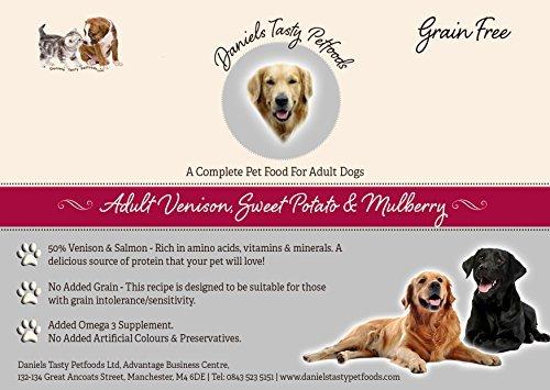 Welpenfutter Hundefutter–Wild, Sweet Potato & Mulberry