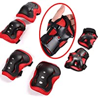 Protective Gear,children Knee Elbow Pads and Wrist Guard Kid's Pad Set for Inline Roller Skating Biking Skateboard Scooter