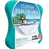 LA VIDA ES BELLA - Caja Regalo - ESCAPADA RELAX CON SABOR - 395 hoteles de hasta 5* con spa en España y Portugal