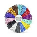 Victorstar @ 3D Pen Filament Refills 20 Colors 656 Linear Feet (200 Meters) / ABS 1.75mm 12 General Colors+2 Glow in Dark + 1 Wood Color + 5 Fluorescent / 32.8 Feet (10 Meters) Each Color