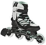 Powerslide Inline Skates Epsilon Damen Schwarz/Weiß Größe 41