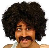 Smiffy's 118118Smiffy's rétro kit Moustache et perruque