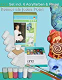 Produkt-Bild: Tausendschön COLOUR - Gipsabdruck -Set Babybauch, Bauchmaske Schwangerschaft