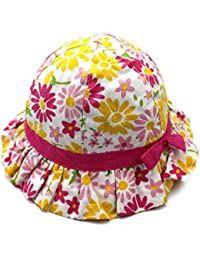 Arcweg Bob Eté à L imprimé Fantaisie en Coton Chapeau de Soleil Plage Bonnet  Bébé Fille Enfant Outdoor Ultra-léger… a33f6eb4eee