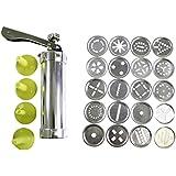 Kit de Galletas de 25 Piezas con Máquina y Moldes por Kurtzy TM