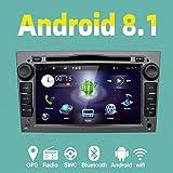 YUNTX Android 8.1 Autoradio Compatible avec Opel Astra/Vectra/Zafira | GPS 2 Din |...