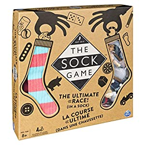 Spin Master Games- BGM FGM Sock Game UPCX GML, Multicolor, 6055024