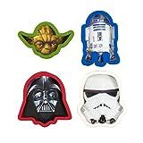Underground Toys Moldes para Galletas Star Wars, Color Blanco, Rojo y Azul, 4x1.5x6 cm (SW02785)