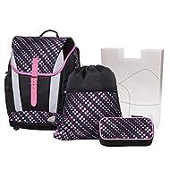 Schneiders Set de sacs scolaires, noir (Noir) - 10110311