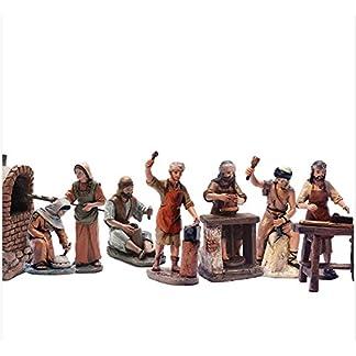 Triciclo Editores Belén Delprado J.L.Mayo – Artesanos 7 Figuras – Serie 11 cms BEL957