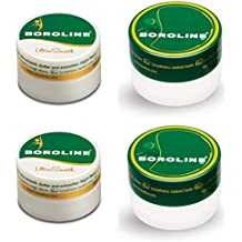 BOROLINE SX Antiseptic Night Cream, 40gms X 2 and Boroline Ultra Smooth Antiseptic Night Cream, 40gms X 2 Combo pack of 4 (40gms X 4)