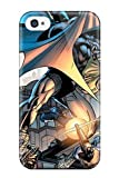 Fashionable YzxannB1772DtFyL Iphone 4/4s Case Cover For Batman Comics Anime Comics Protective Case