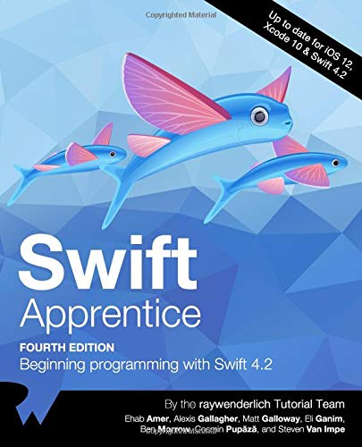 Swift Apprentice: Beginning programming with Swift 4.2