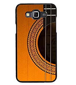 PrintDhaba Guitar strings D-5898 Back Case Cover for SAMSUNG GALAXY GRAND MAX (Multi-Coloured)