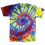 Colortone - Unisex Batik T-Shirt 'Swirl' / Kaleidoscope, 4XL