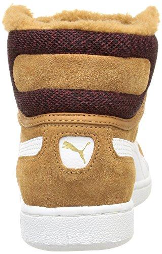 Puma - Puma Vikky Mid Marl, Sneaker alte Donna Marrone (Braun (chipmunk brown-white 03))