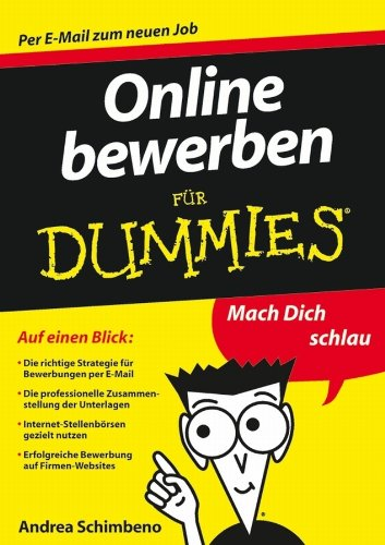 Online Bewerben Fur Dummies Für Dummies Ebook Andrea Schimbeno