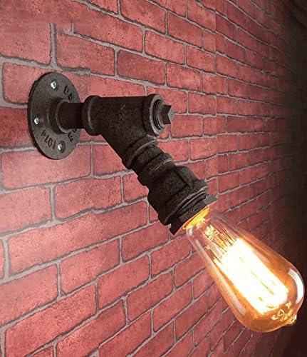 Lampade da parete Restaurant American Retro Industrial Wind Restaurant parete Soggiorno Cafe Bar Creative Luce da parete acqua di ferro lampade a muro 19d16c