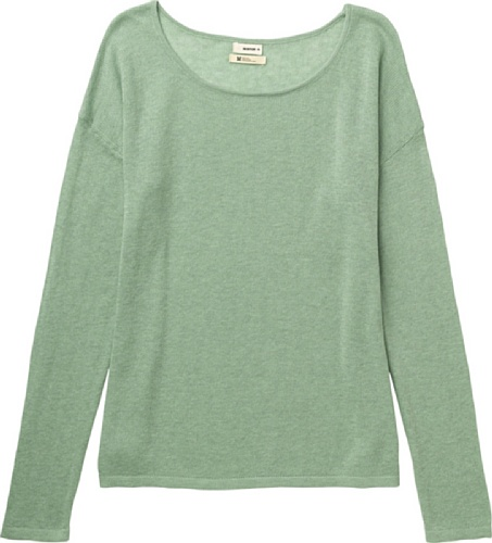 Burton Damen Pullover Women's Bubble Sweater Heather Vintage Grn