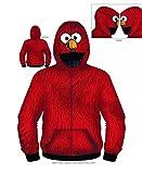 Toy Zany Sesame Street That's Elmo Costume Sudadera con Capuchat | XXL