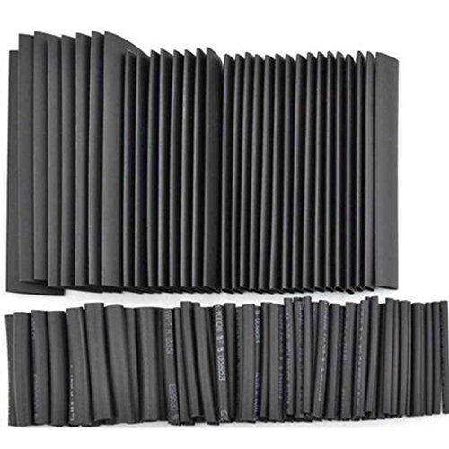 Mintice/™ 5 M/ètre Noir 1//16 14mm 2:1 Fil thermor/étractable Tube dassortiment denveloppement de fil de tube