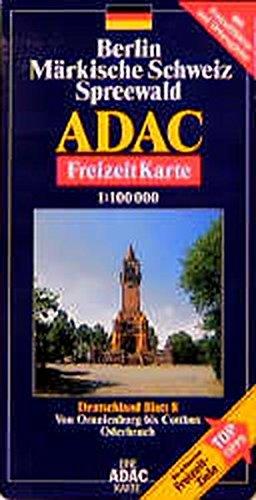 Carte touristique : Berlin, Märkische Schweiz, Spreewald, N° BI8