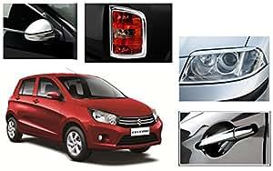 Auto Pearl - Chrome Plated Premium Quality Accessories For Maruti Suzuki Celario