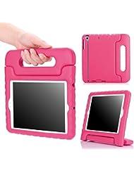 MoKo Apple iPad mini 3, 2 y 1 funda - Ligero y super protective funda diseñar especialmente para los niños,FUCSIA