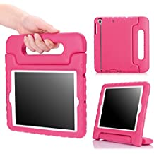 MoKo Funda para iPad Mini 3 / 2 / 1 - Shock Proof Material EVA Lightweight Kids Protector Cover Case con Manija para Apple iPad Mini3 / Mini2 / Mini1 7.9 Pulgadas Tableta, FUCSIA