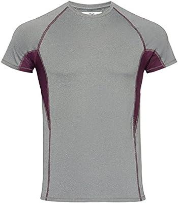 Activewear Men's Sports Top Raglan Sleeve Crew Neck from Activewear