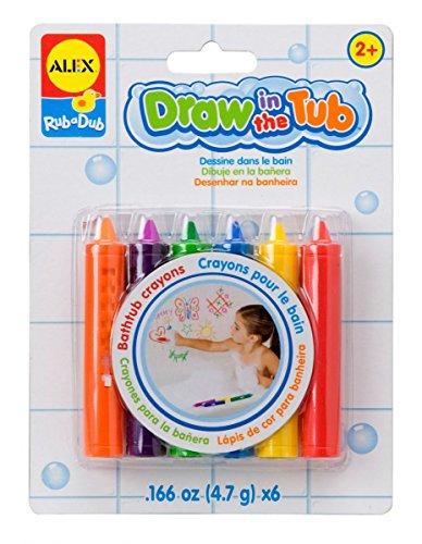 Alex - Pack de 6 ceras para pintar