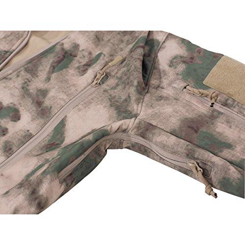MFH Premium Soft Shell Jacke Scorpion Softshell Herrenjacke Outdoor Übergangsjacke viele Farben S-3XL HDT-camo FG