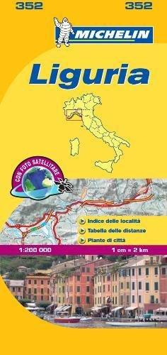 Mapa Local Italia-Liguria (Mapas Local Michelin) por MICHELIN