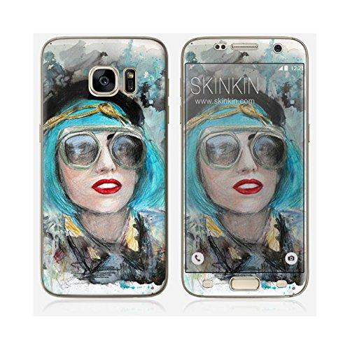Coque iPhone 6 Plus et 6S Plus de chez Skinkin - Design original : Lady gaga glasses par Denise Esposito Skin Samsung Galaxy S7 Edge