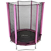 Plum® Products 30183 Junior Trampoline and Enclosure (Pink)