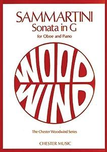 Giovanni Sammartini: Sonata in G for Oboe and Piano (Chester Woodwind)