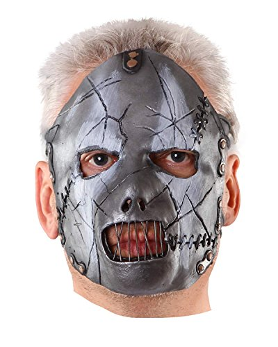 Slipknot Paul Latex Maske - original (Maske Clown Slipknot)