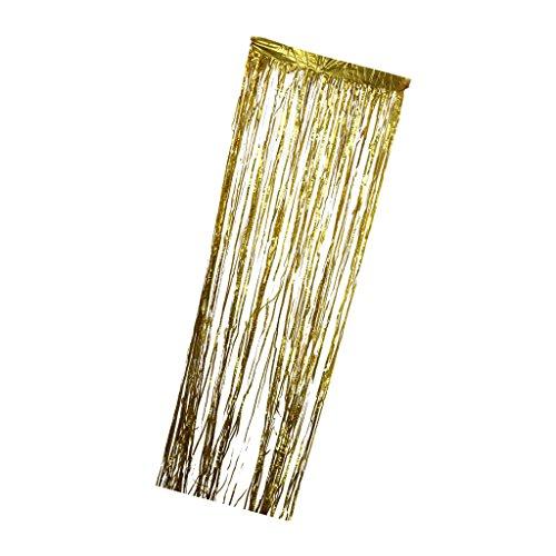 rhänge Dekoration - Gold (Halloween Lametta)