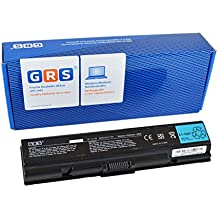 GRS–Batería de 6600mAh para Toshiba Satellite A200, A205, A210, A215, A305, M200, M205, L200 sustituye a: PA3534U-1BRS PA3535U-1BRS, PABAS235, PA3534U-1BAS, PABAS098, Batería de portátil, 6600mAh, 10.8V.