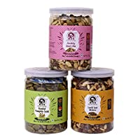 Maa (My Authentic Appetite) Pumpkin Seeds (85 GM), Healthy Seeds Mixture (75 GM) & Lentil Seeds Mix (70 GM)