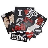 Green Day 5 sticker set