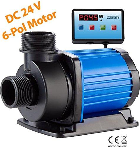 ECO easypumpe 24V-DC SixPole EP 8.000l/h mit Digitalsteuerung