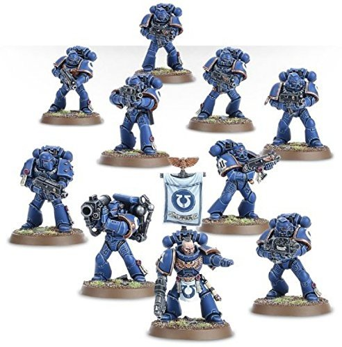 Space Marine Tactical Squad Warhammer 40k by Games Workshop